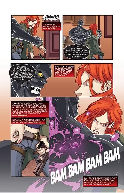 Adaptation en comics de Cycne Noir de Richelle Mead StormBorn1page4