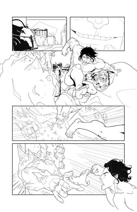 Adaptation en comics de Cycne Noir de Richelle Mead I02p2