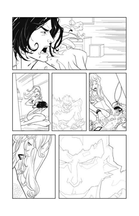 Adaptation en comics de Cycne Noir de Richelle Mead I02p3