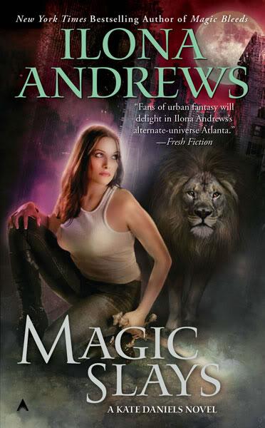 Kate Daniels :  Magic Slays - Tome 5 - VO Ilona_andrew-magicslays