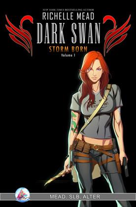 Adaptation en comics de Cycne Noir de Richelle Mead Stormborn-gn