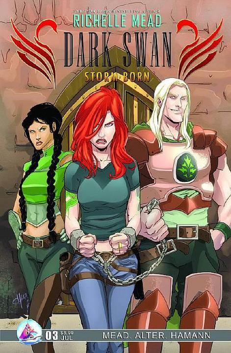 Adaptation en comics de Cycne Noir de Richelle Mead Stormborn3