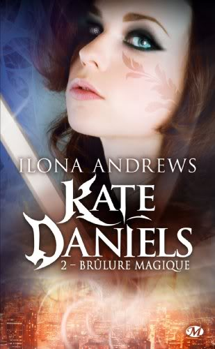 Kate Daniels : Brûlure magique - Tome 2 Katedaniels2