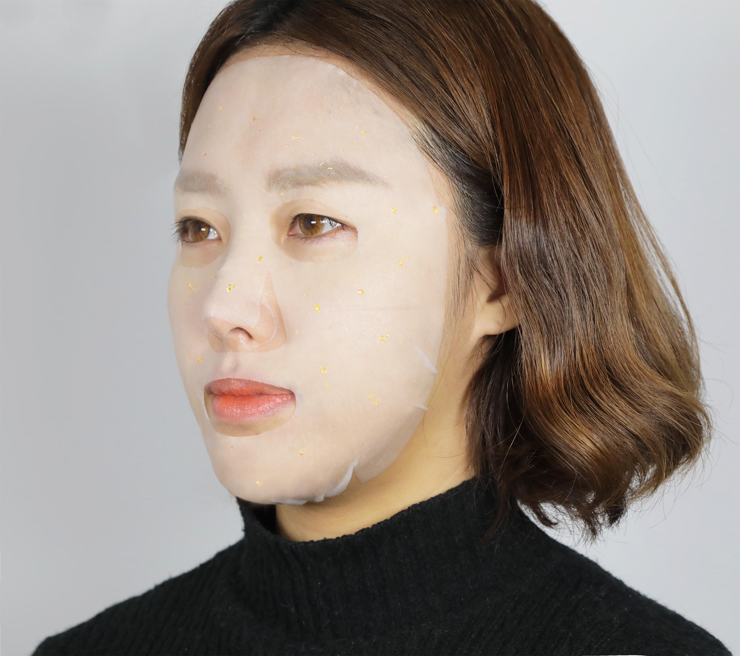 冬季肌肤干燥的专属护理,SNP爱神菲黄金胶原蛋白精华面膜一个就搞定~ 57a7689416e951c5
