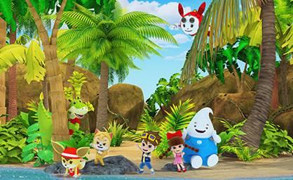 优秀的动画片能够给小朋友带来更有意义的童年——齐齐苹苹 33c8e33643fe461e