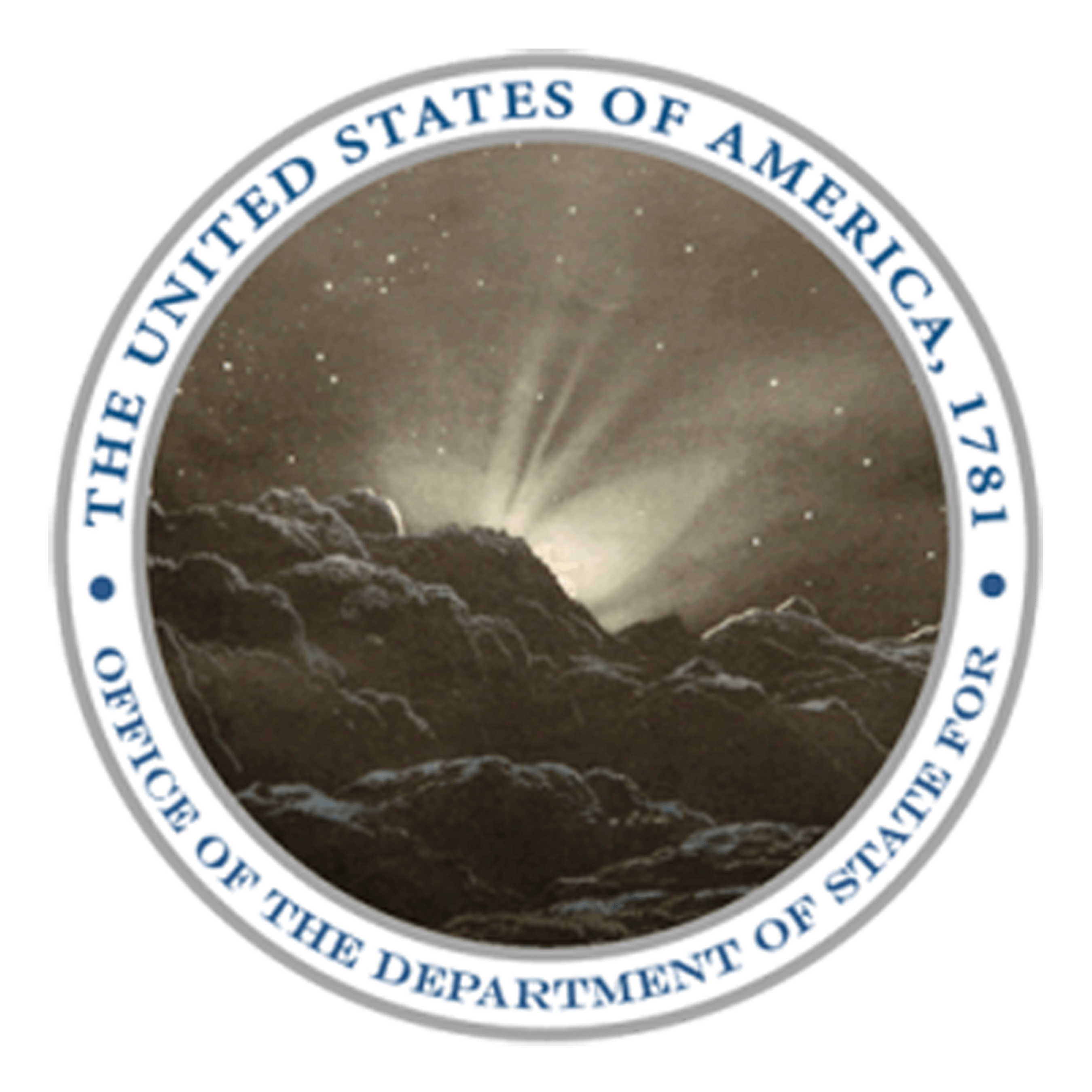 The United States, In Congress Assembled: PROCLAMATION OF DISSOLUTION OF THE BANK OF NORTH AMERICA. Seal-Department-of-State