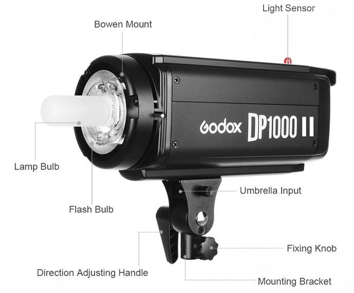 Đèn flash godox DP1000II Den-flash-studio-Godox-DP1000II-2