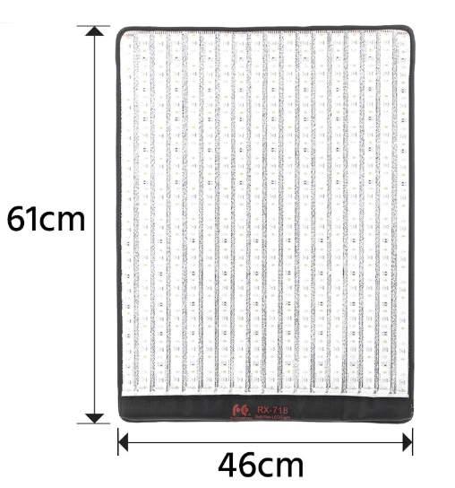 Đèn led dàng cuộn dành cho quay phim Den-led-dang-cuon-100-RX-718RGB-Falconeyes-1
