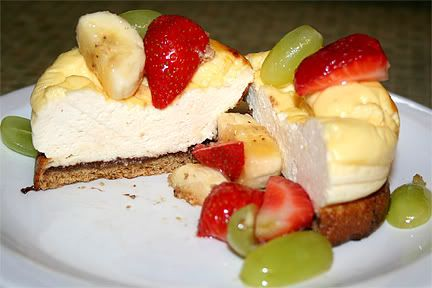 Quark Cheesecake Cheesecake
