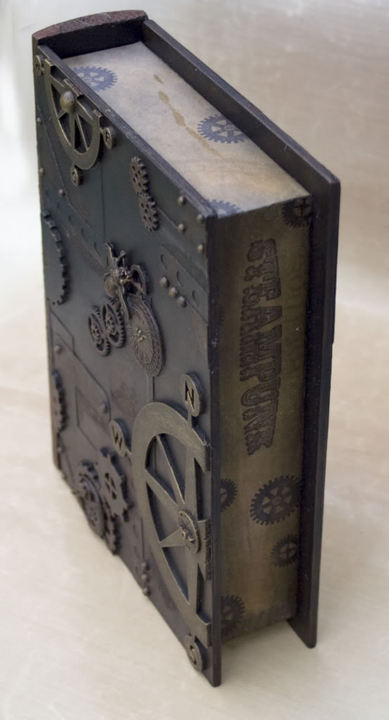 Altered Book Box Finished5