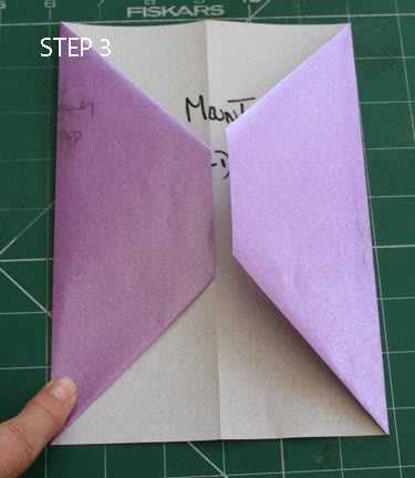 POCKET TAG BOOK (single A4 sheet) STEP3