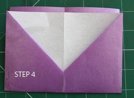 POCKET TAG BOOK (single A4 sheet) STEP4