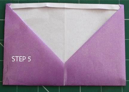 POCKET TAG BOOK (single A4 sheet) STEP5