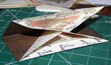 TRIANGULAR PAGE BOOK Step5-1