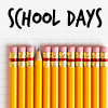 school days pencils icon Pictures, Images and Photos