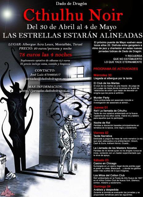 JORNADAS DE DADO DE DRAGÓN: CTHULHU NOIR 695823de