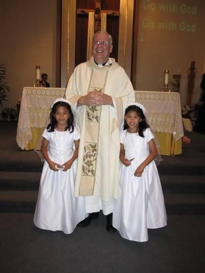 Abri & Ari's 1st Holy Communion May 2009 WIMG_2189