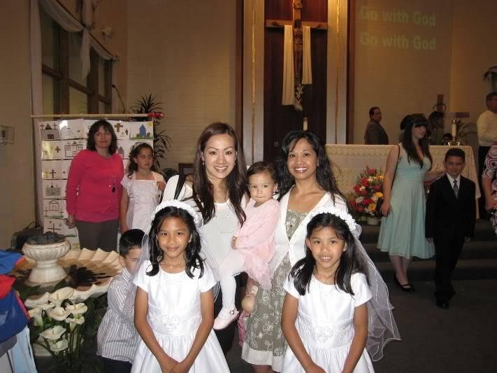 Abri & Ari's 1st Holy Communion May 2009 WIMG_2199