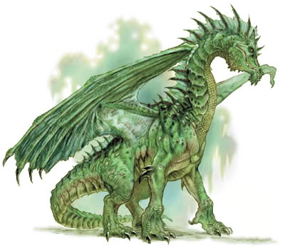 Pet Shop do Poseidon Green-dragon