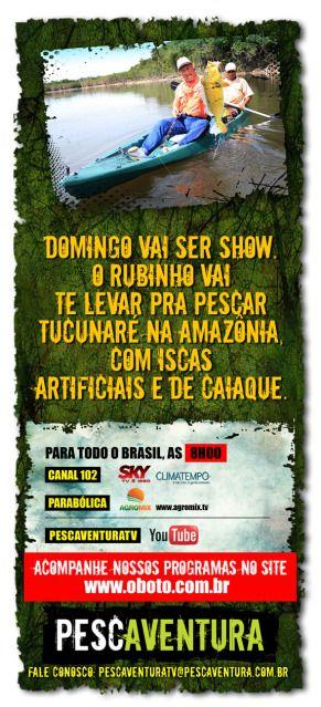 A pescaria deste domingo é show de tucunares nos caiaque , na Amazônia!! 67_1208
