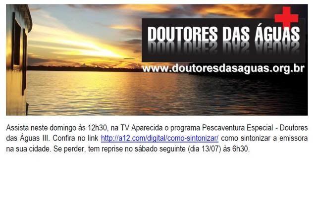 Doutores das Aguas no programa Pescaventura Semtiacutetulo_zps27a72d4b