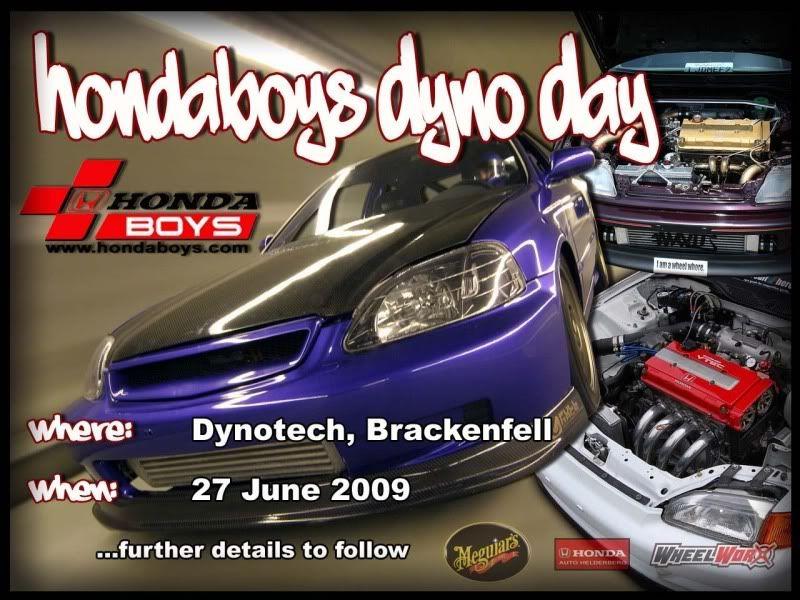 HondaBoys Dyno day 27th June HBDynoday3