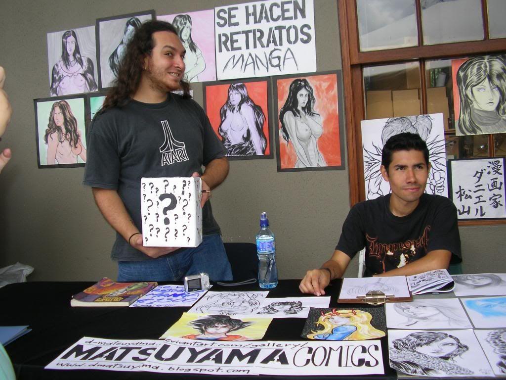 ¡Nuestros artistas en el ComPa 2009! SANY1296