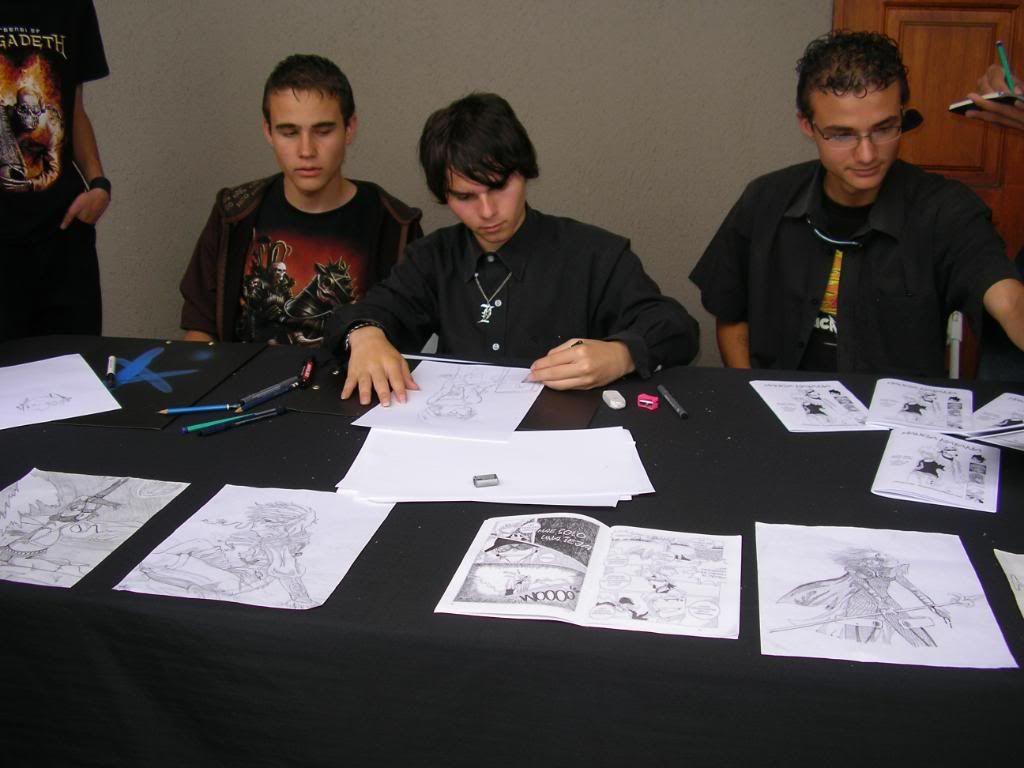 ¡Nuestros artistas en el ComPa 2009! SANY1298