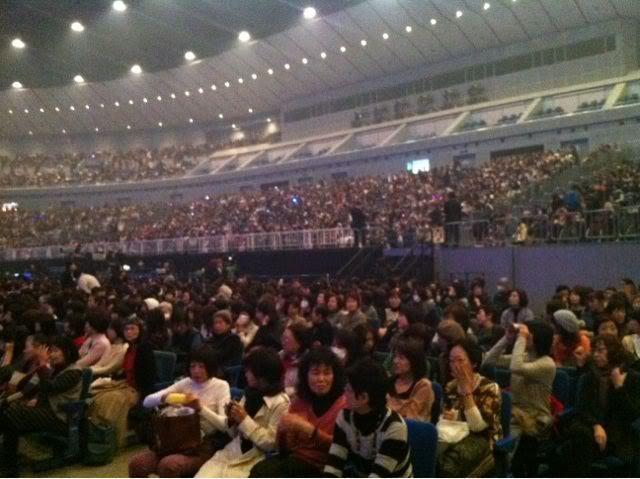 Les photos durant le Fan-Meeting 20111221klatoma_2