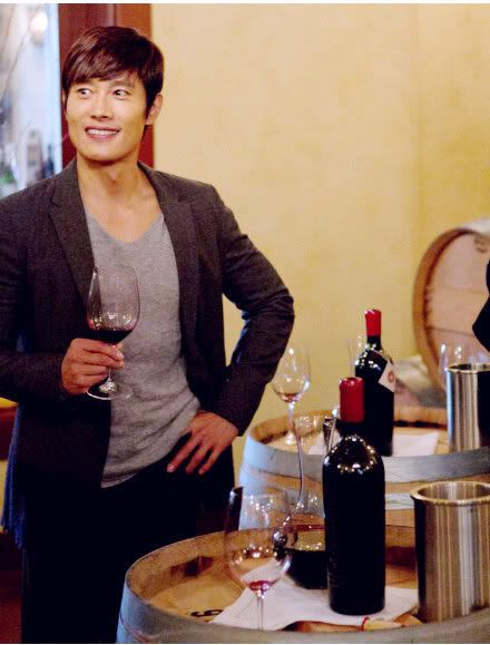 LBH pose au Black stalion Winery à Los Angeles. Np_3