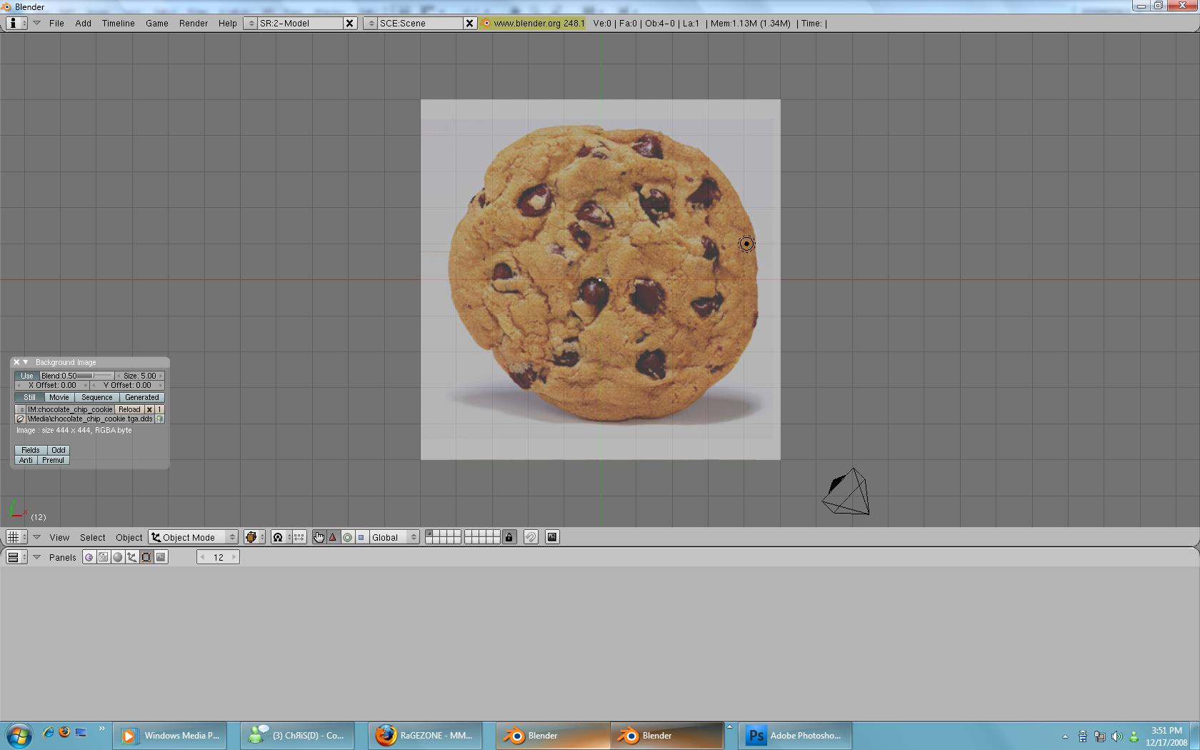 [Tutorial] Modeling with Blender. Step3-1