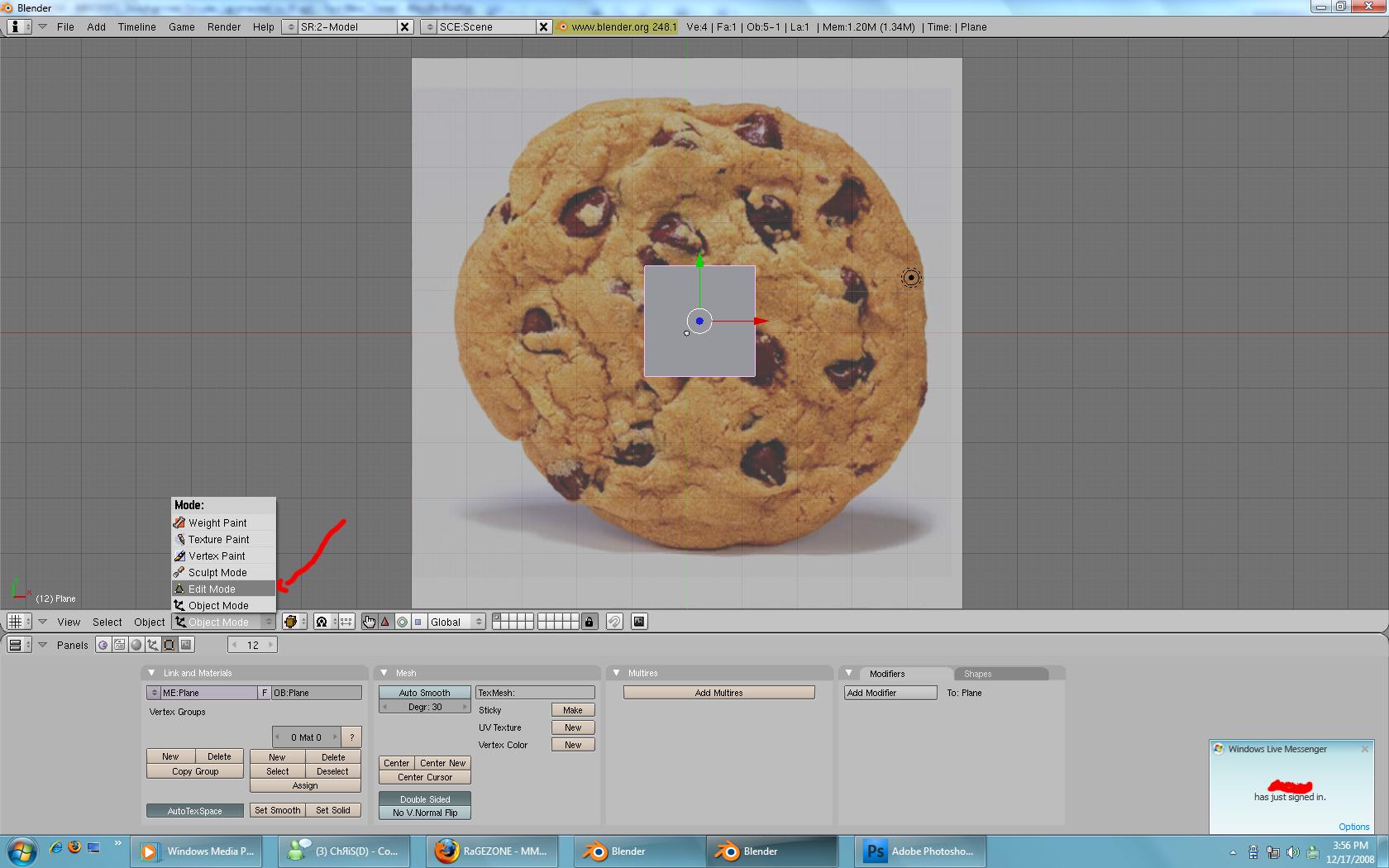 [Tutorial] Modeling with Blender. Step4-1