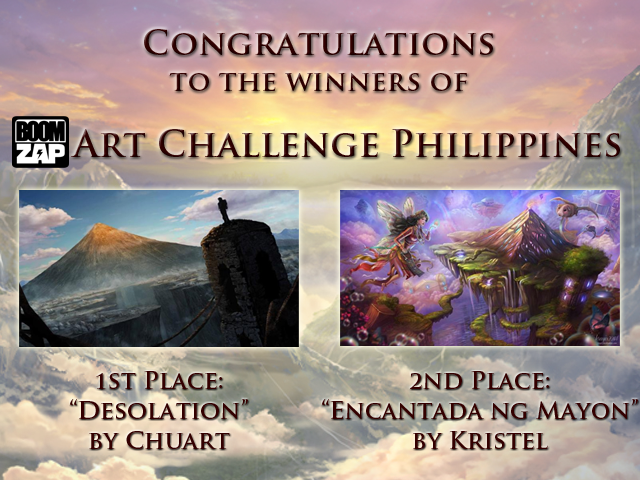 Competition #9: Boomzap Art Challenge Philippines Winners Winners-1