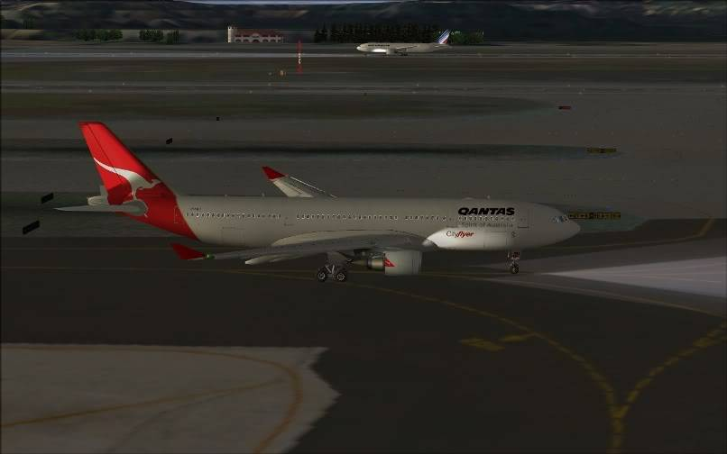 [FS9] SBGR - SUMU / A330 Qantas FS2004-007