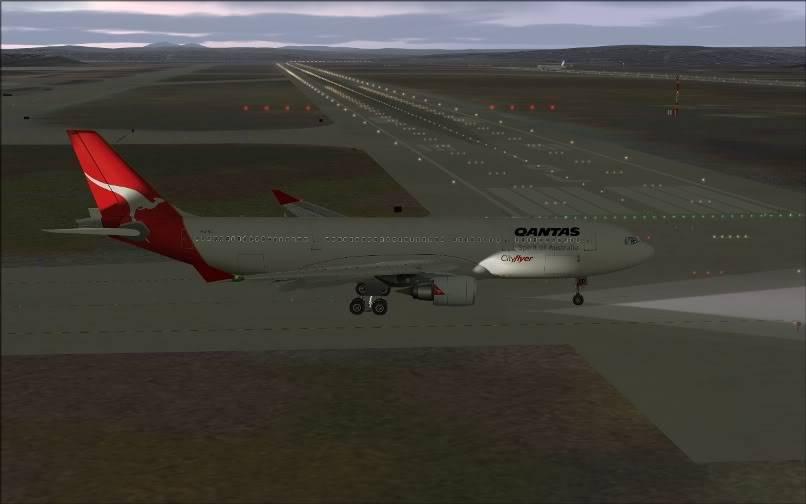 [FS9] SBGR - SUMU / A330 Qantas FS2004-009