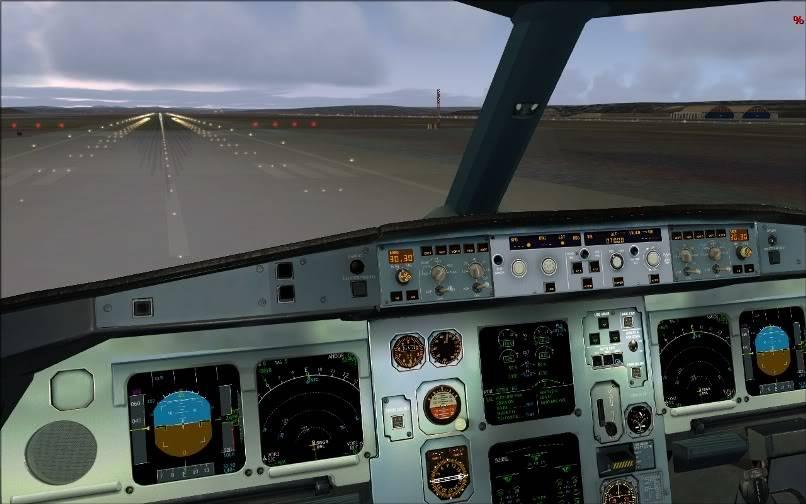 [FS9] SBGR - SUMU / A330 Qantas FS2004-010
