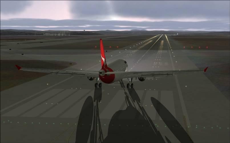 [FS9] SBGR - SUMU / A330 Qantas FS2004-011