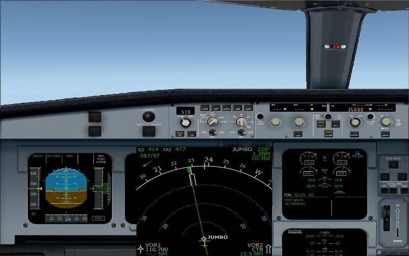 [FS9] SBGR - SUMU / A330 Qantas FS2004-015