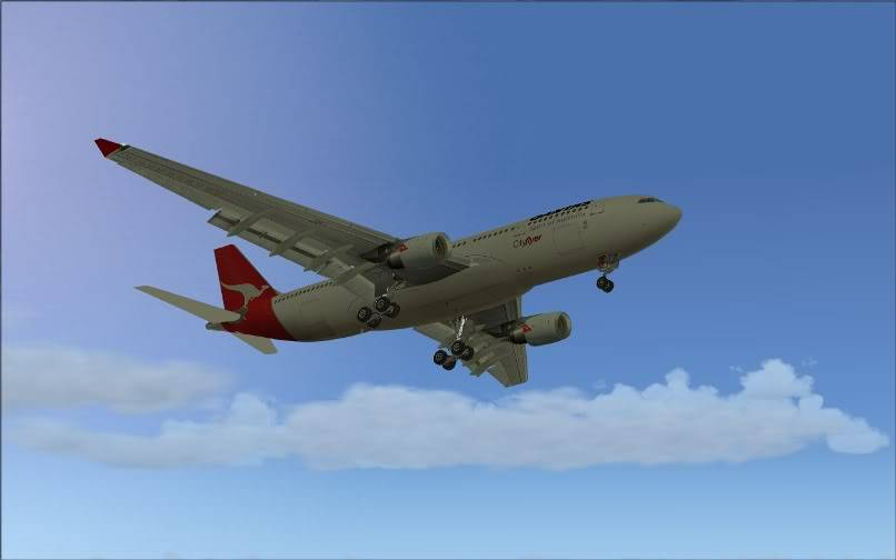 [FS9] SBGR - SUMU / A330 Qantas FS2004-021