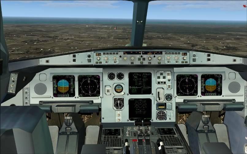 [FS9] SBGR - SUMU / A330 Qantas FS2004-023