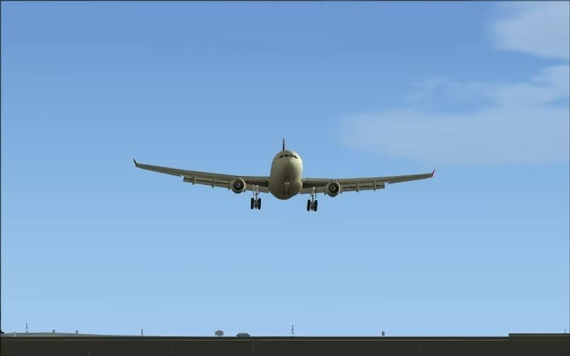 [FS9] SBGR - SUMU / A330 Qantas FS2004-028