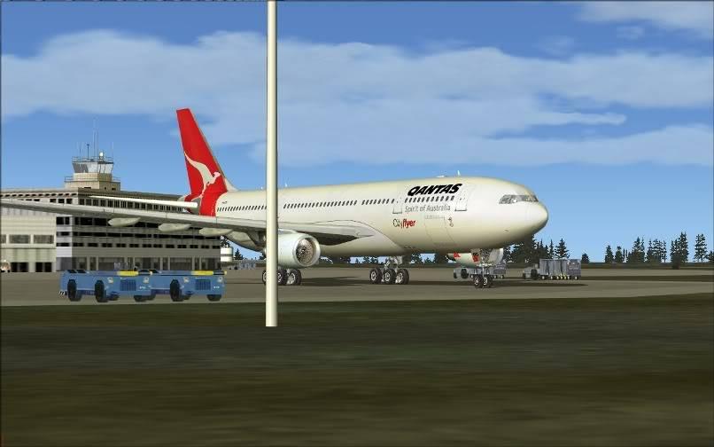 [FS9] SBGR - SUMU / A330 Qantas FS2004-033