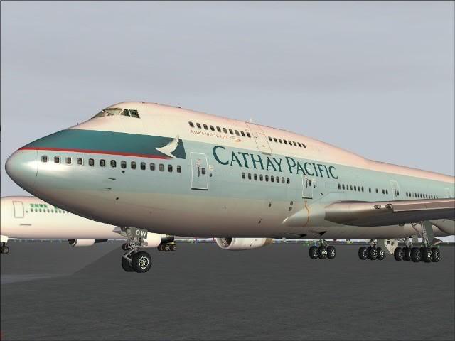 [FS9] Taipei - Kaitak / 747 PMDG FS2004036