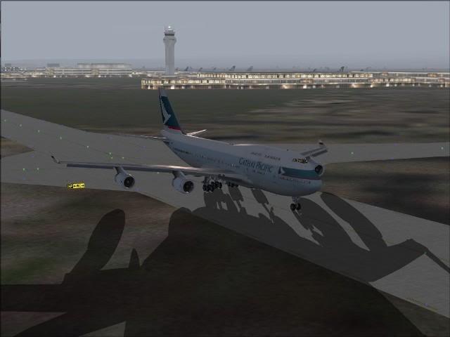 [FS9] Taipei - Kaitak / 747 PMDG FS2004044