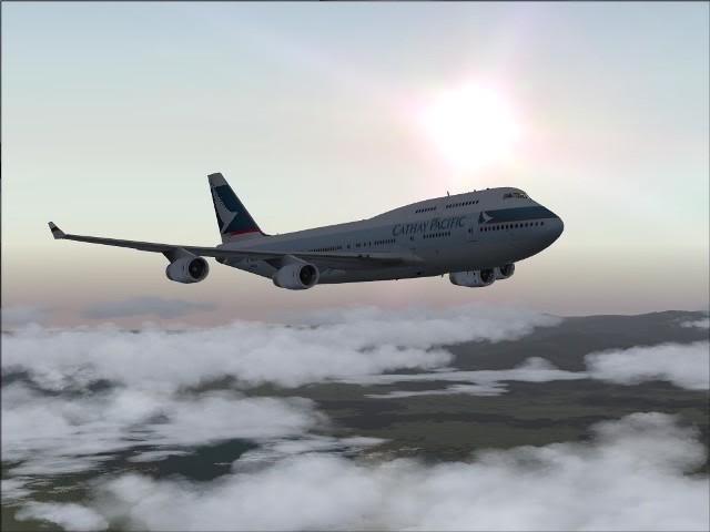 [FS9] Taipei - Kaitak / 747 PMDG FS2004058