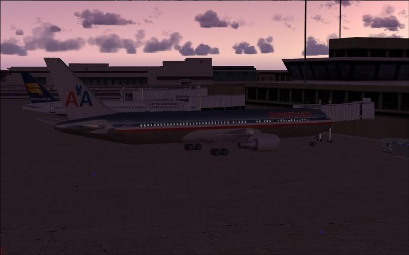 [FS9] KJFK - SBGR / B763 American Airlines Leveld FS2004-001