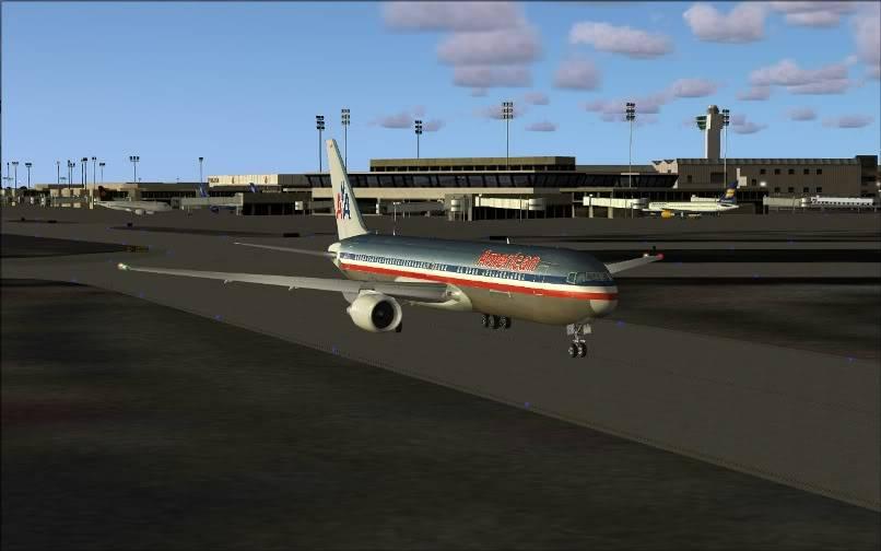 [FS9] KJFK - SBGR / B763 American Airlines Leveld FS2004-003