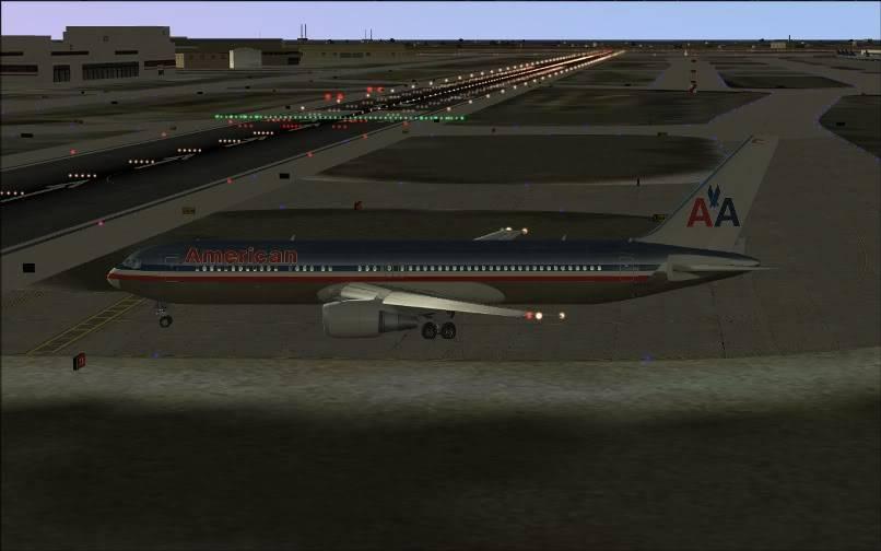 [FS9] KJFK - SBGR / B763 American Airlines Leveld FS2004-004