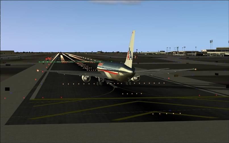 [FS9] KJFK - SBGR / B763 American Airlines Leveld FS2004-006