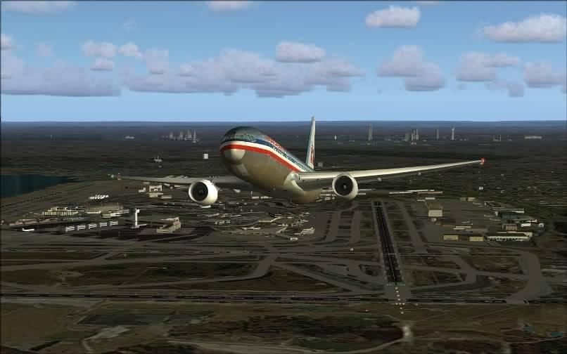 [FS9] KJFK - SBGR / B763 American Airlines Leveld FS2004-007